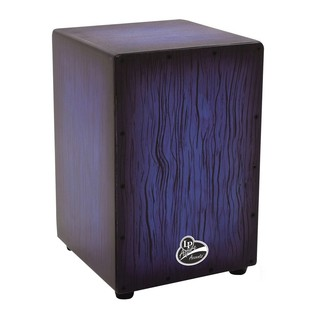 LP Aspire Accent Cajon Blueburst Streak