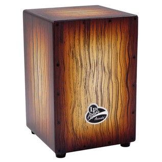 LP Aspire Accent Cajon Sunburst Streak
