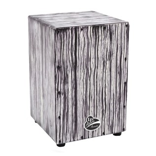 LP Aspire Accent Cajon White Streak