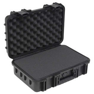 SKB iSeries 1610-5 Waterproof Case (With Cubed Foam) - Angled Open