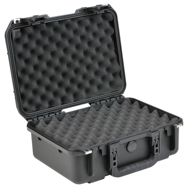 SKB iSeries 1610-5 Waterproof Case (With Layered Foam) - Angled Open
