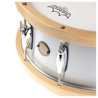 Gretsch Gold Series 14 x 6.5 Aluminium Snare Drum with Wood Hoops