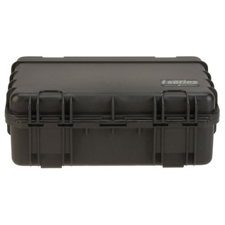 SKB iSeries 1711-6 Waterproof Case (With Cubed Foam) - Rear Flat