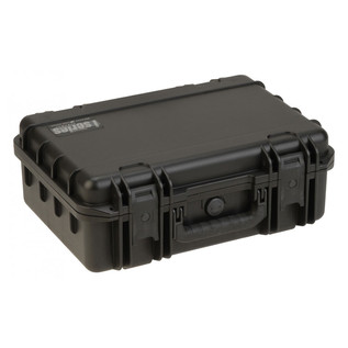 SKB iSeries 1711-6 Waterproof Case (With Layered Foam) - Angled Flat