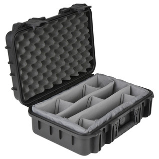SKB iSeries 1610-5 Waterproof Case (With Dividers) - Angled Open