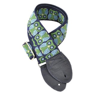 Souldier Guitar Strap Owls, Blue