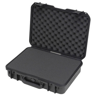SKB iSeries 1813-5 Waterproof Case (With Cubed Foam) - Angled Open