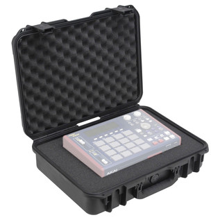 SKB iSeries 1813-5 Waterproof Case (With Cubed Foam) - Angled Open (Contents Not Included)