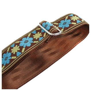 Souldier Guitar Strap Tulip, Turquoise/Brown