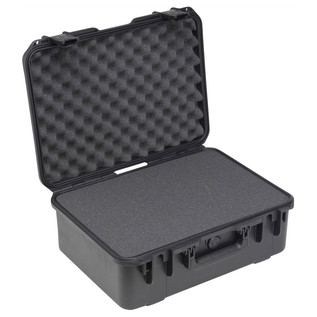 SKB iSeries 1813-7 Waterproof Case (With Cubed Foam) - Angled Open