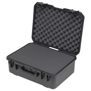 SKB iSeries 1813-7 Waterproof Case (With Cubed Foam) - Angled Open 2