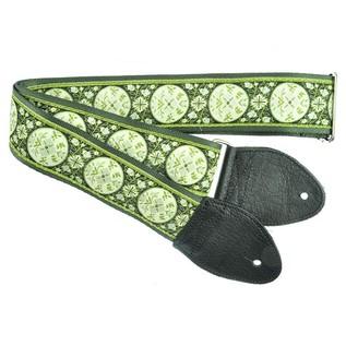 Souldier Guitar Strap Medallion, Green