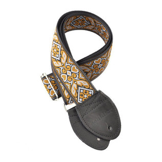 Souldier Guitar Strap Haida, Orange/Grey