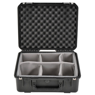 SKB iSeries 1914N-8 Waterproof Case (With Dividers) - Front Open