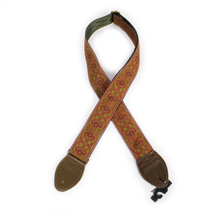 Souldier Guitar Strap Arabesque, Red