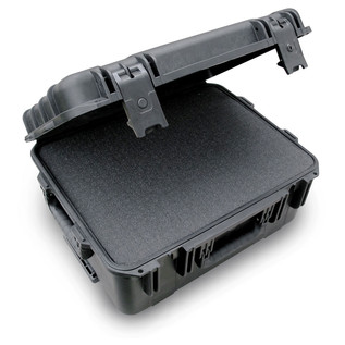 SKB iSeries 1914-8 Waterproof Case (With Cubed Foam) - Angled Open 2