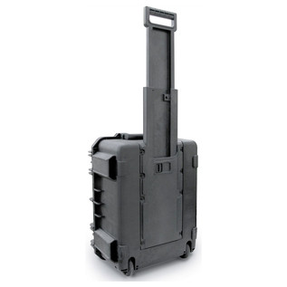 SKB iSeries 1914-8 Waterproof Case (With Cubed Foam) - Rear Handle Extended