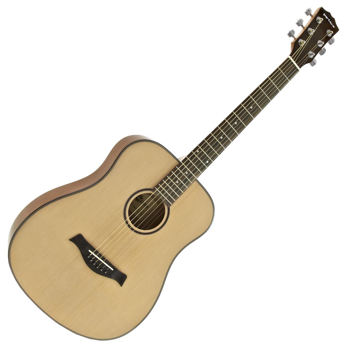 guitare acoustique de voyage taille 3 4 par gear4music. Black Bedroom Furniture Sets. Home Design Ideas