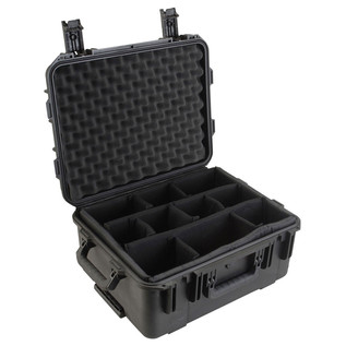 SKB iSeries 1914-8 Waterproof Case (With Dividers) - Angled Open