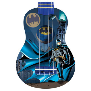Batman Rooftops Ukulele, Blue
