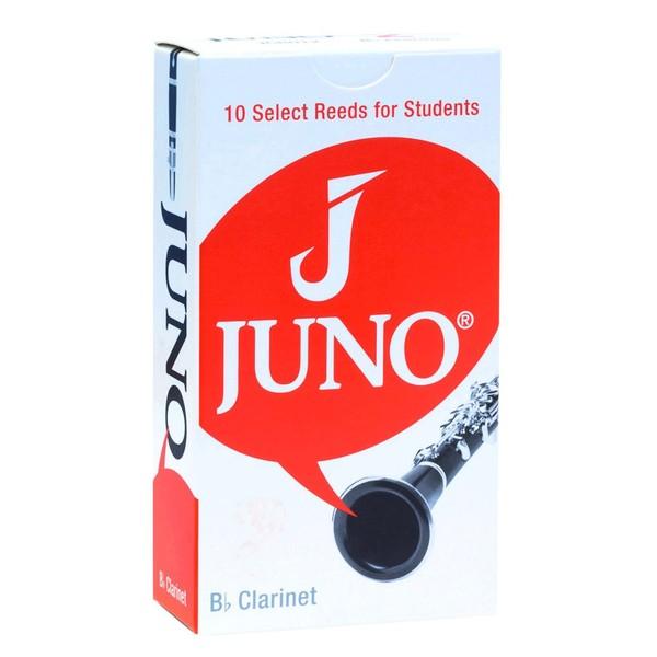 Juno by Vandoren Bb Clarinet Reeds 10 Pack, Strength 1.5