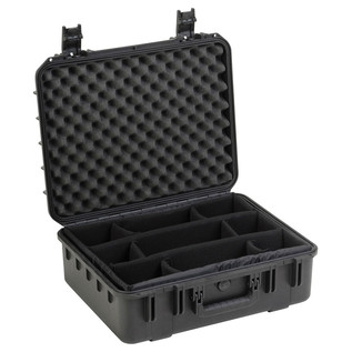 SKB iSeries 2015-7 Waterproof Case (With Dividers) - Angled Open
