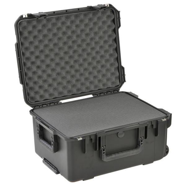 SKB iSeries 2015-10 Waterproof Utility Case (With Cubed Foam) - Angled Open