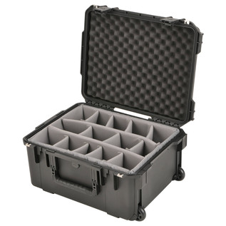 SKB iSeries 2015-10 Waterproof Utility Case (With Dividers) - Angled Open 2