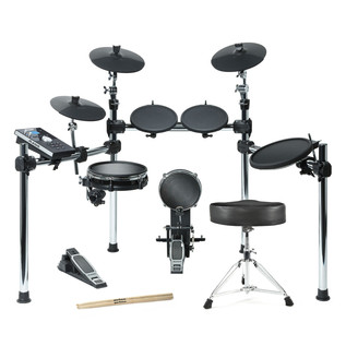Alesis Command 8-Piece Electronic Drum Kit with Free Sticks and Stool