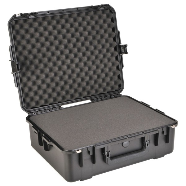 SKB iSeries 2217-8 Waterproof Case (With Cubed Foam) - Angled Open 2