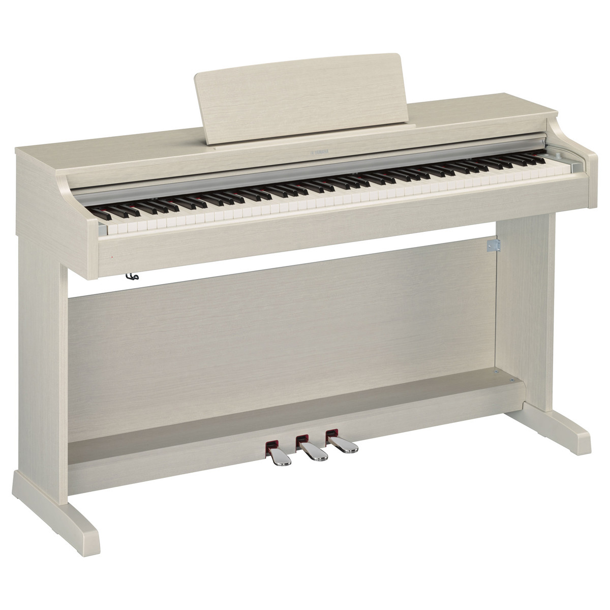 yamaha ydp 163 digital piano white ash at gear4music. Black Bedroom Furniture Sets. Home Design Ideas