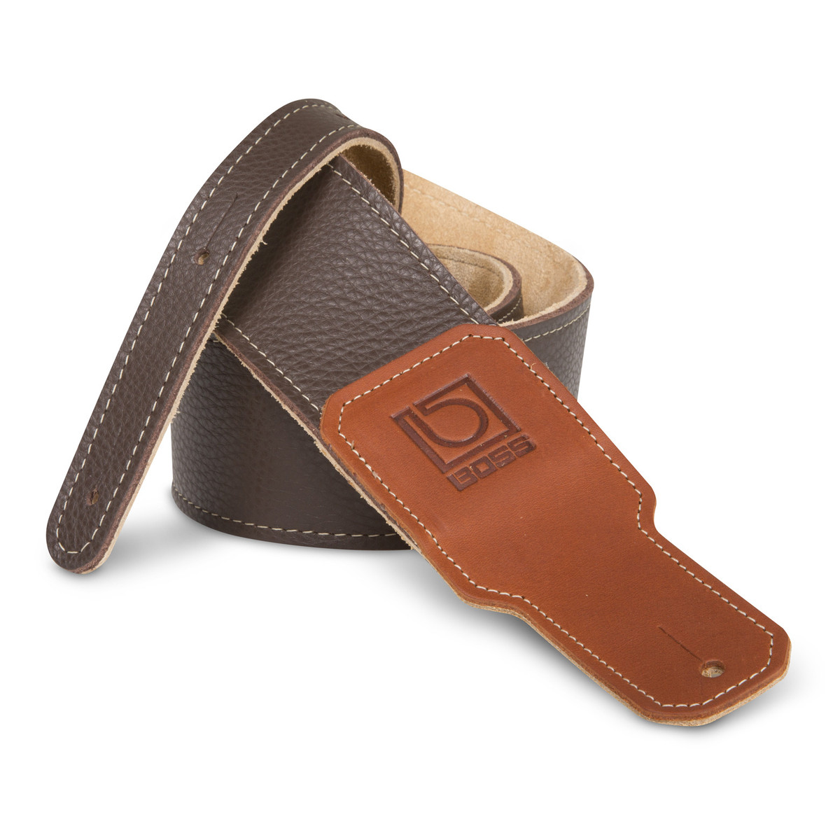 Click to view product details and reviews for Boss 25 Brown Premium Leather Guitar Strap.
