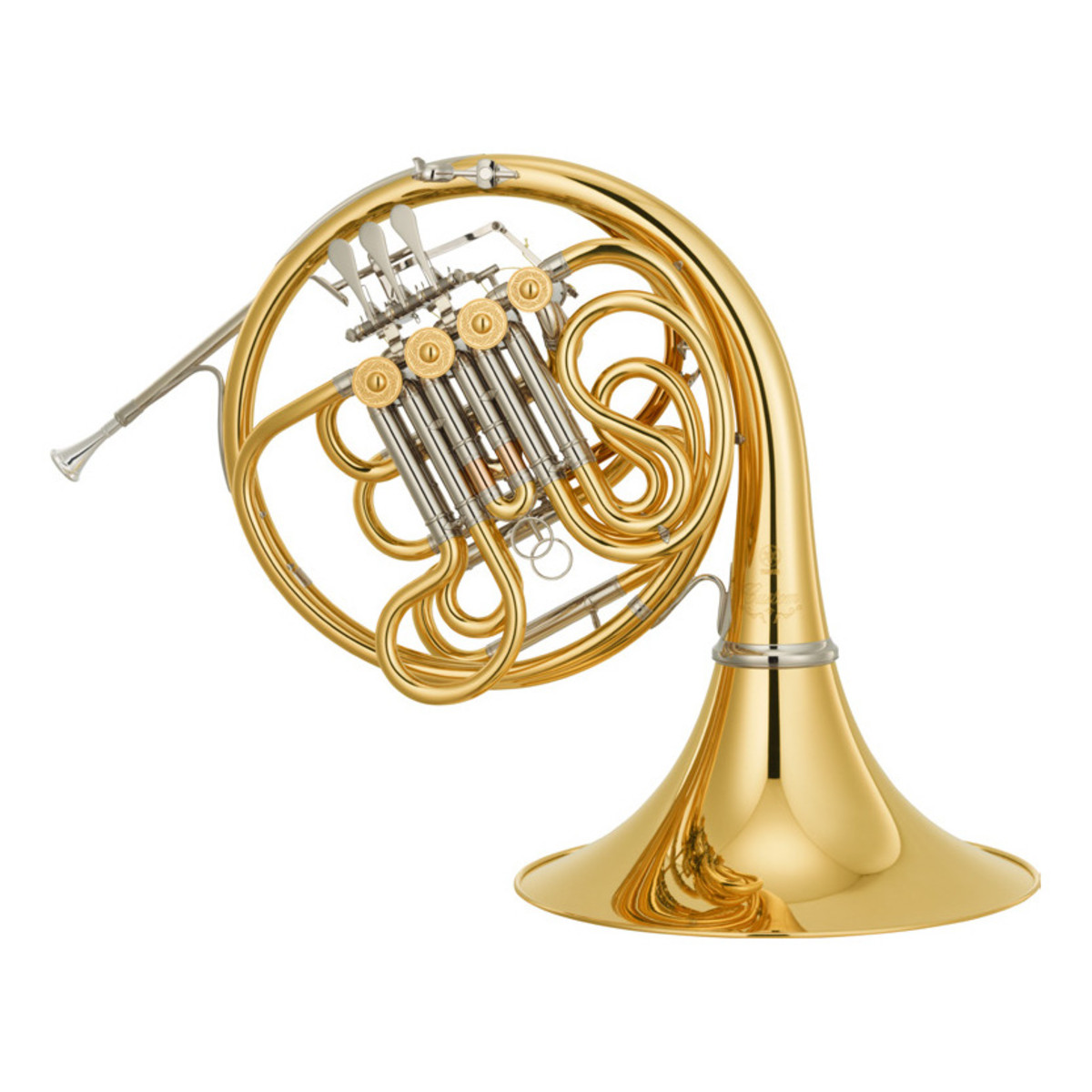 yamaha yhr671d professional series double french horn detachable bell at. Black Bedroom Furniture Sets. Home Design Ideas