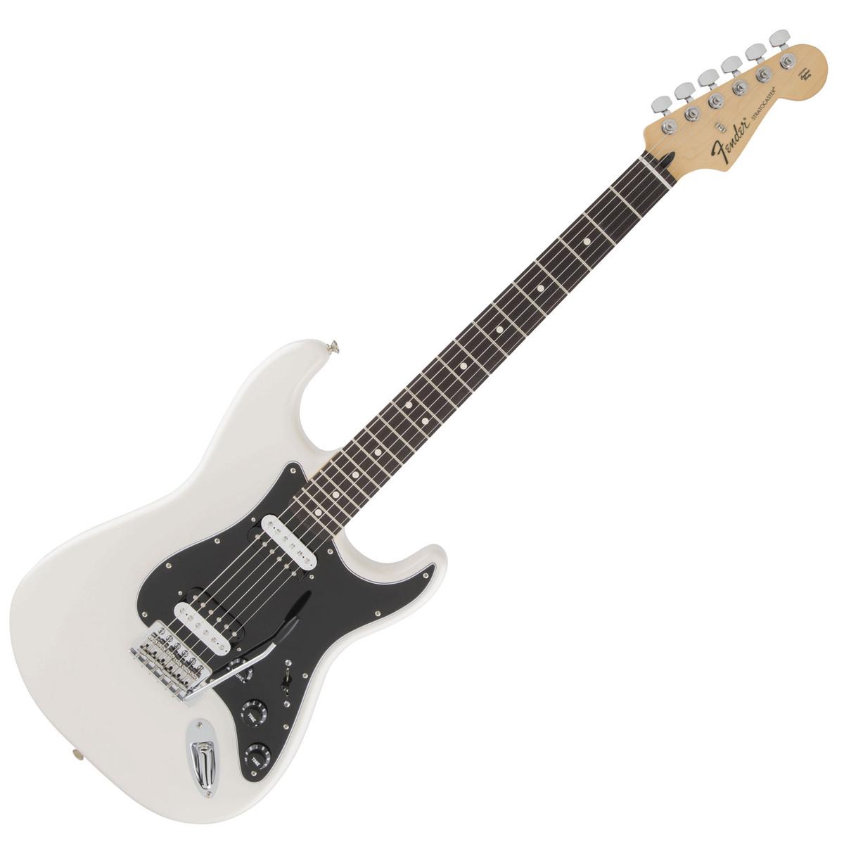 fender standard stratocaster hh olympic white ex demo at gear4music. Black Bedroom Furniture Sets. Home Design Ideas