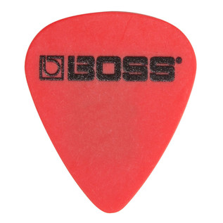 BOSS Delrin Pick .50mm Thin 12 Pack, Red - Singular Pick