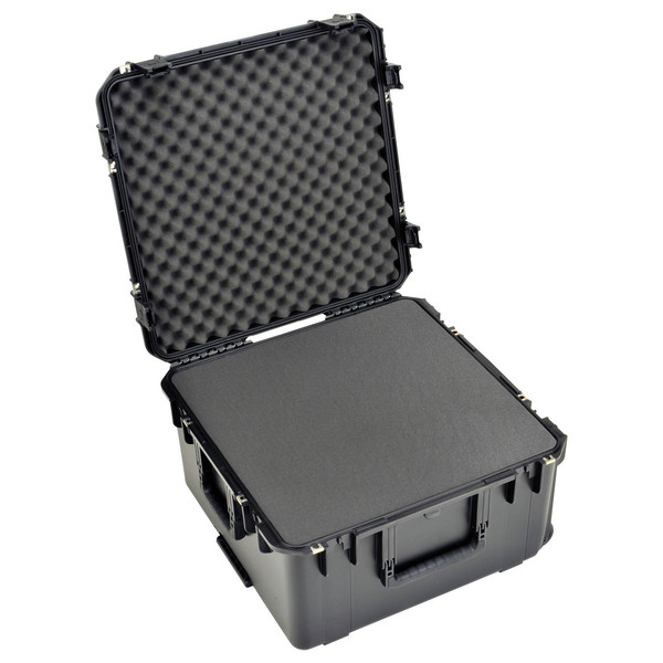 SKB iSeries 2217-12 Waterproof Case (With Cubed Foam) - Angled Open