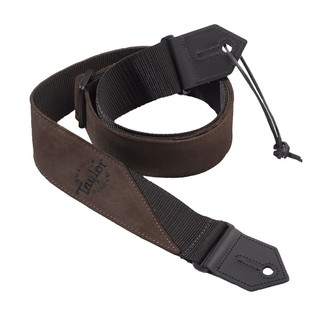 Taylor Suede/Poly Guitar Strap, Brown