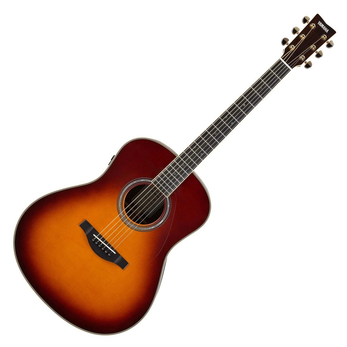 yamaha ll ta transacoustic guitar brown sunburst at. Black Bedroom Furniture Sets. Home Design Ideas