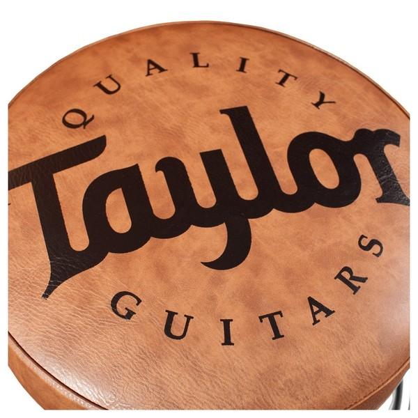 Taylor Guitars Bar Stool, Brown