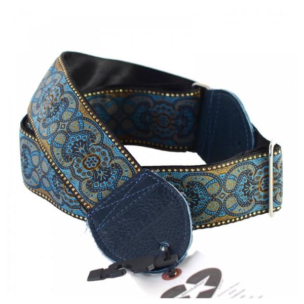 Souldier Guitar Strap Arabesque, Blue