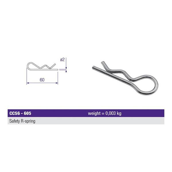 Prolyte X30 Series Spigot R-Spring Truss Clip