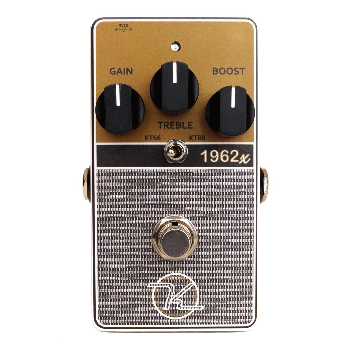 Keeley 1962x 2 Mode Limited British Overdrive Pedal At Gear4music Treble Booster Is Simply The Two Stage Jfet Preamp Circuit