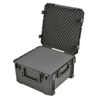 SKB iSeries 2424-14 Waterproof Case (With Cubed Foam) - Angled Open 2