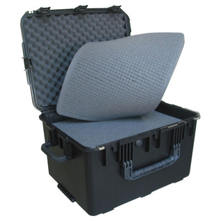 SKB iSeries 2317-14 Waterproof Case (With Cubed Foam) - Angled Open 2