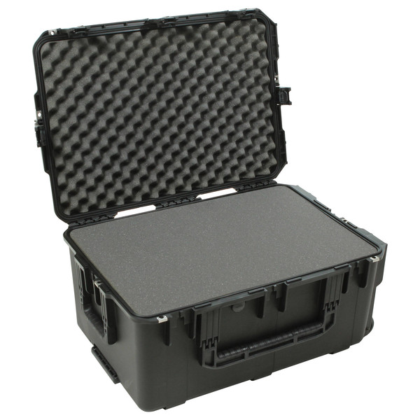 SKB iSeries 2617-12 Waterproof Case (With Cubed Foam) - Angled Open