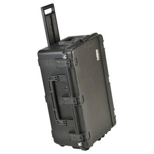 SKB iSeries 2918-10 Waterproof Case (With Cubed Foam) - Angled With Handle