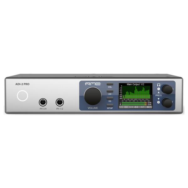 RME ADI-2 Pro AD/DA Converter - Front