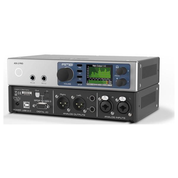 RME ADI-2 Pro AD/DA Converter - Front And Back