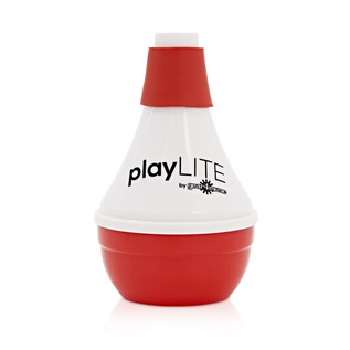playLITE Practice Trumpet Mute, Red