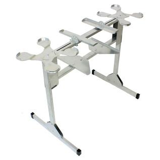 Sefour X25 CDJ Stand for CDJ 850, 900, 1000, Silver - Frame